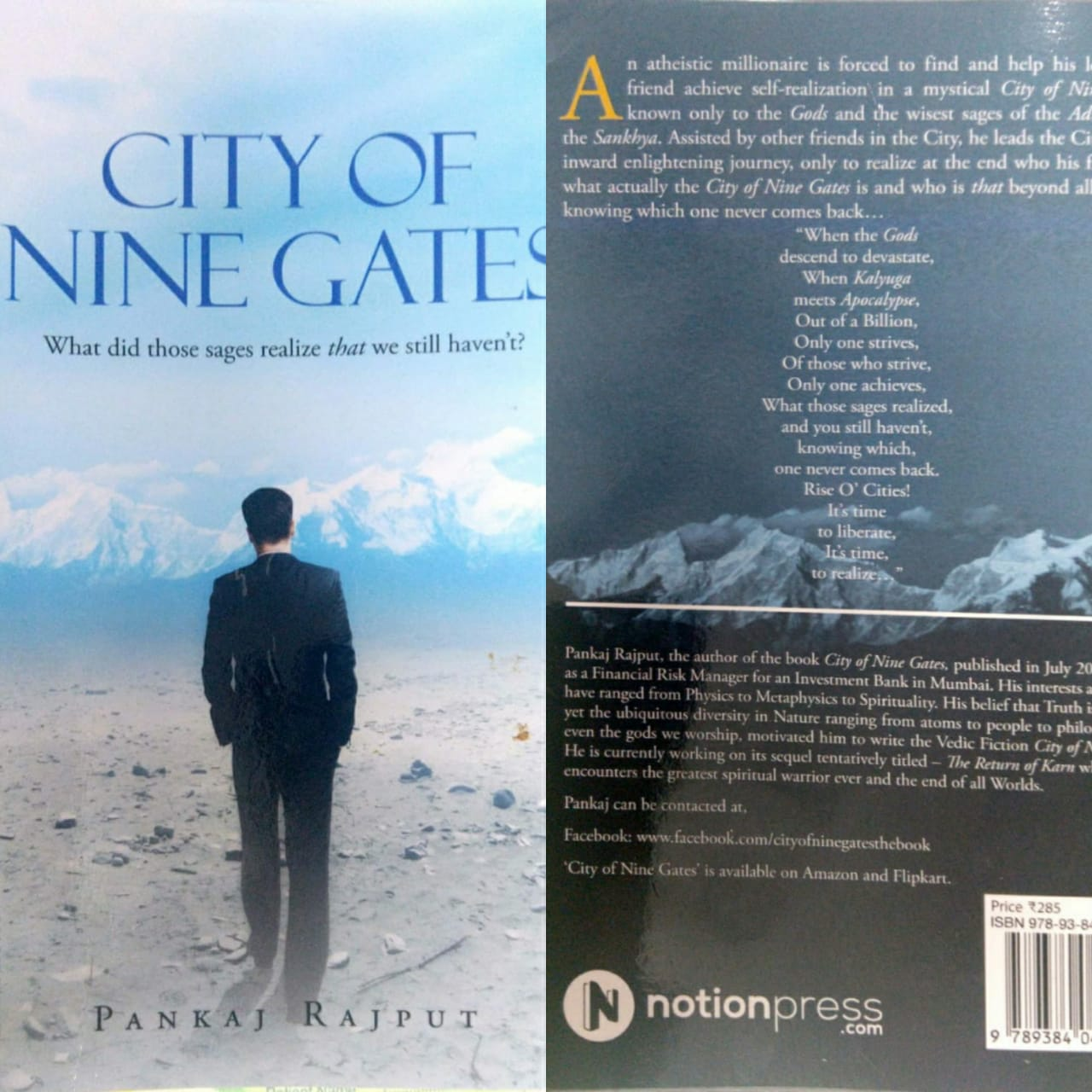 City Of Nine Gates By Pankaj Rajput (Book Review #2)